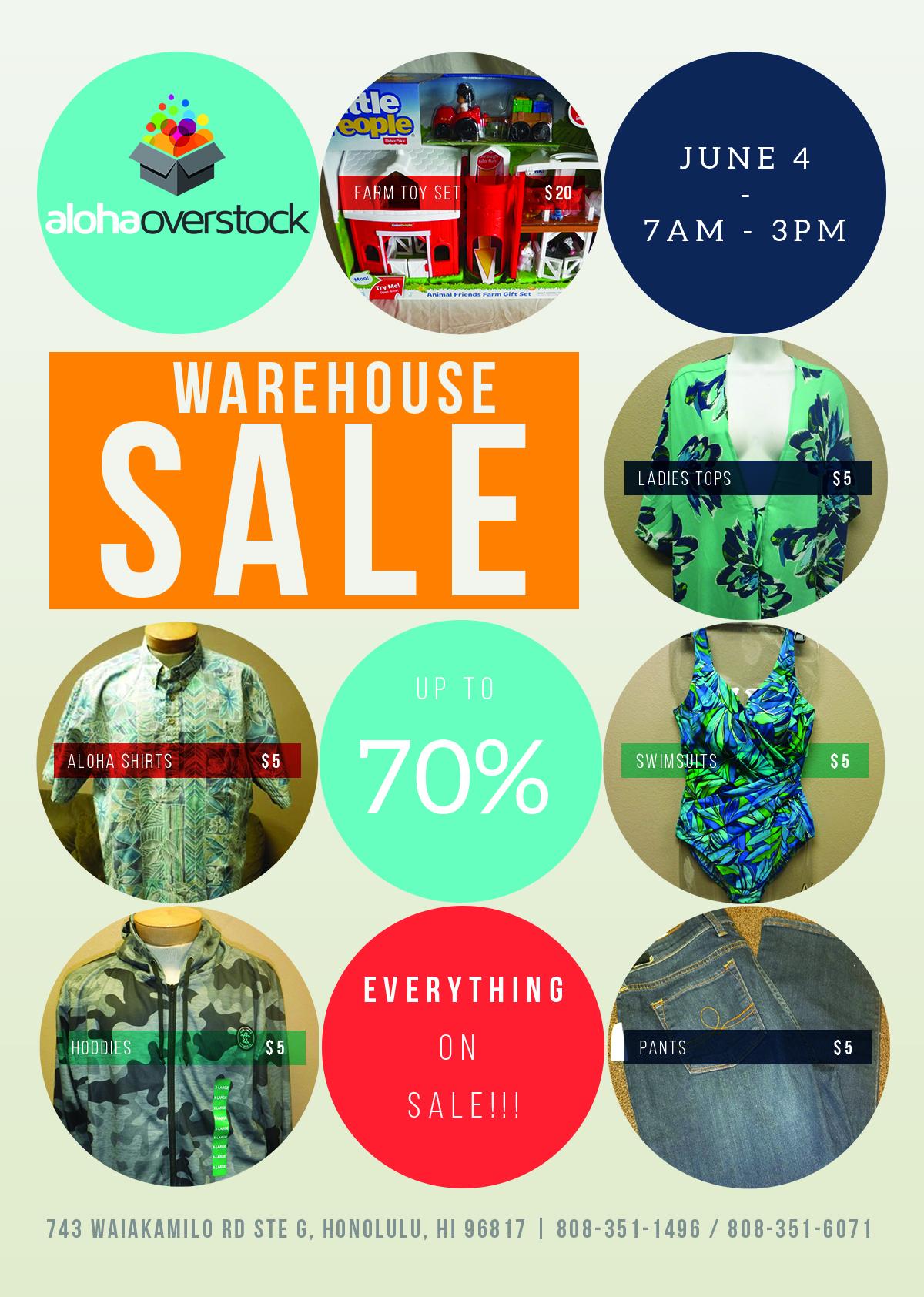 Summer Super Warehouse Sale